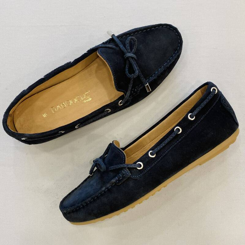 Babouche loafer 03-003-12 navy