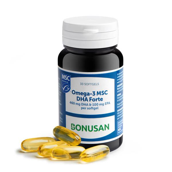 Omega 3 MSC DHA Forte - 30 softgels