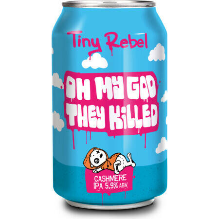 Tiny Rebel - Oh My God, They Killed Cashmere