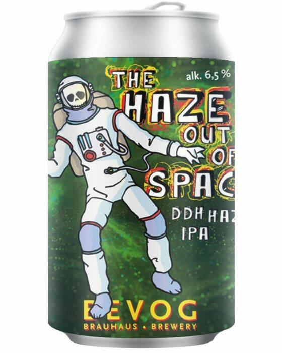 Brouwerij BEVOG- The haze out of Space