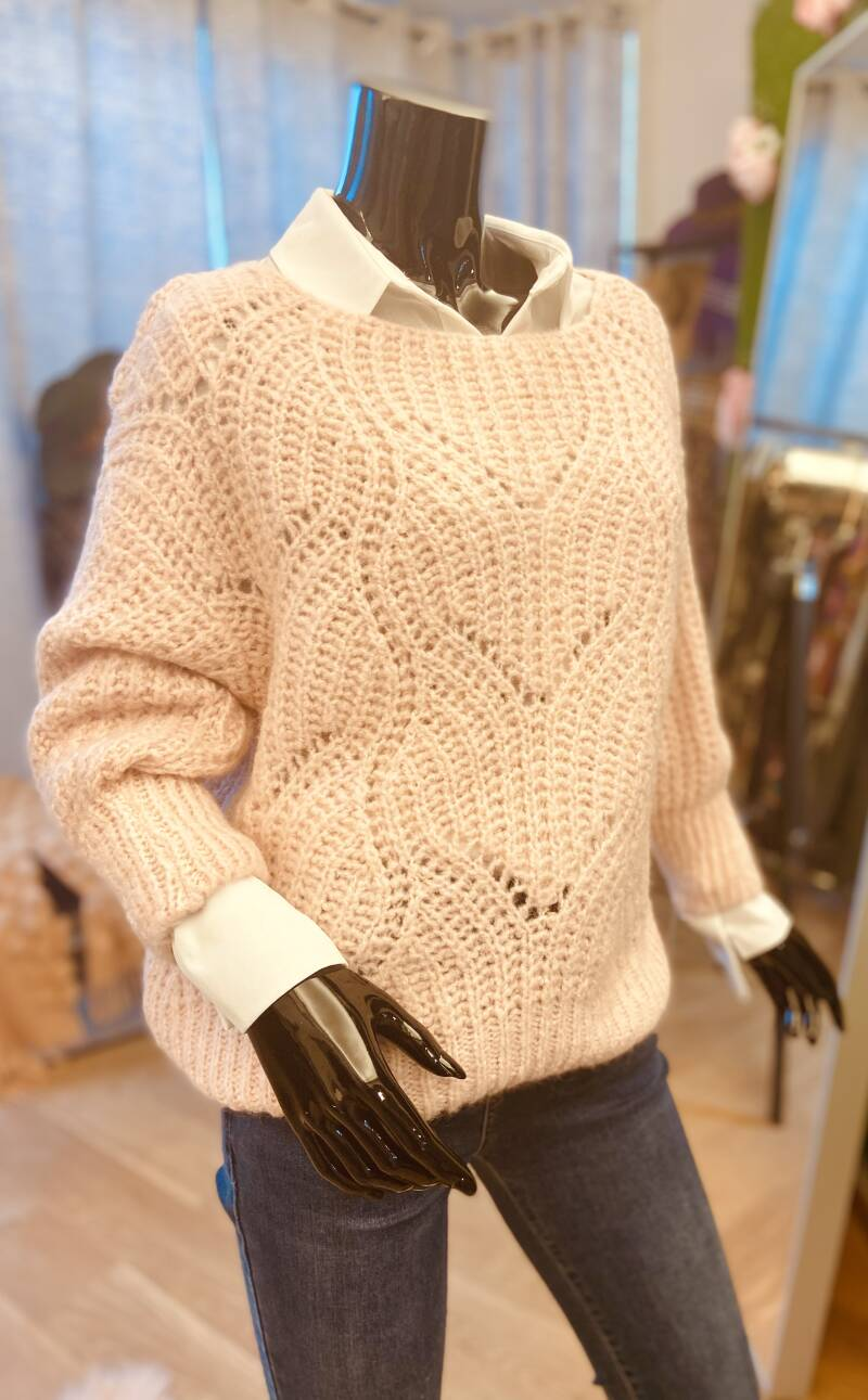 Pull Flare Soft Pink