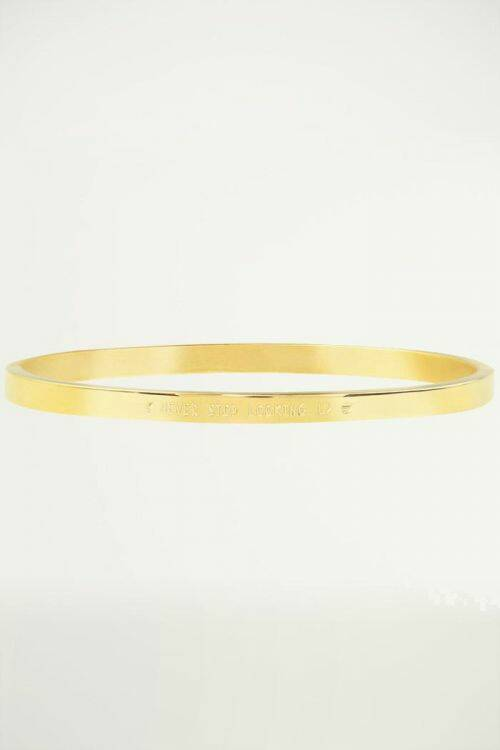 Never Stop Looking Up Bangle