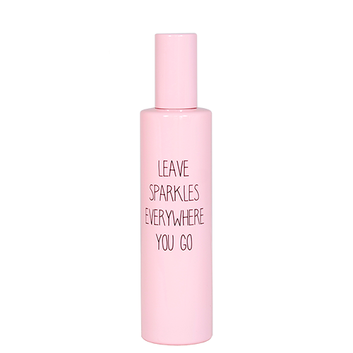Roomspray - leave sparkles everywhere you go - geur: urban suede
