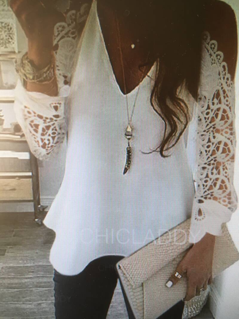 BLOUSE SOLID