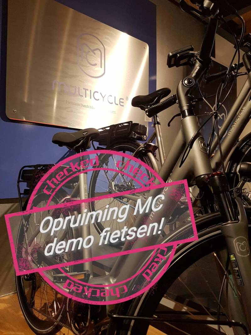 Opruiming Multicycle demo fietsen