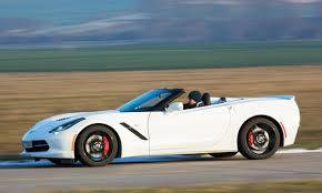 Corvette C7 Cabrio Stingray 6.2L Benz. 466PK Aut8 CO² 288 g/km