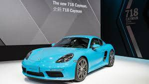 PORSCHE 718 CAYMAN 2.0L BENZ. 300 PK MAN6  CO2 168gr/km