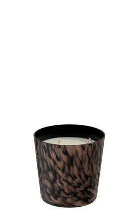 Scented Candle Sandalwood Black-Gold Small | J-Line