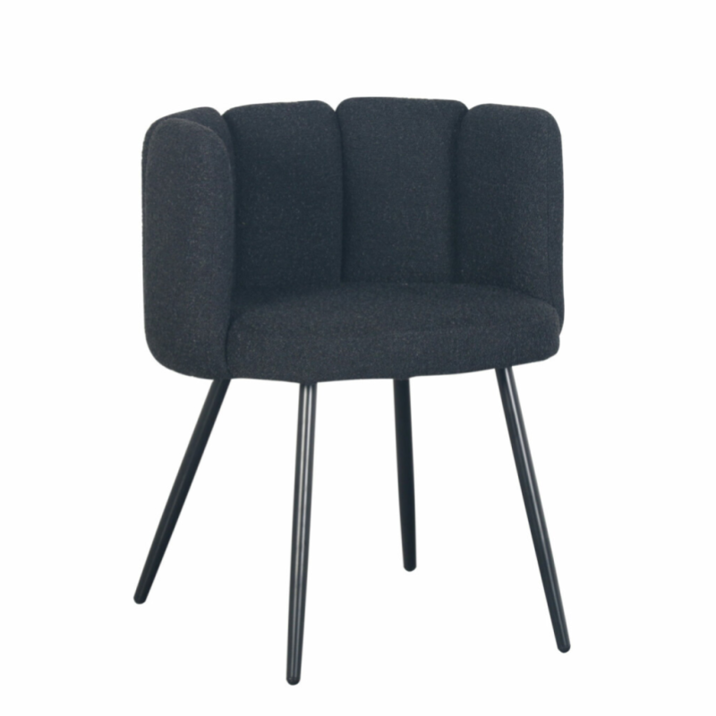 High Five Chair Black Pearl (Boucle)   Pole to Pole