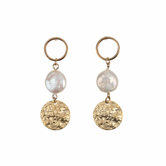 HINTH trippel gold round earring