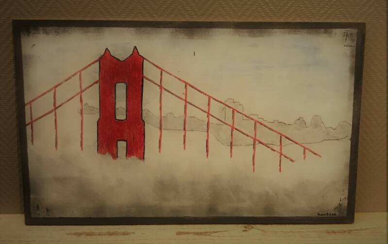 Golden Gate Mist (65x30x0.5)