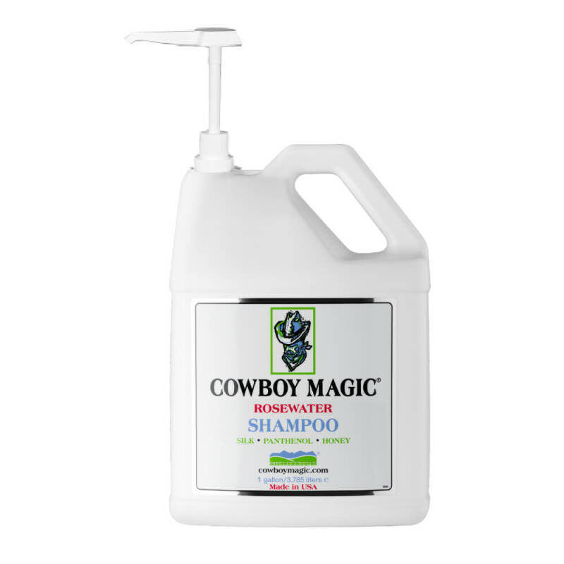 Cowboy Magic Rosewater Shampoo Refill met pomp, 3785 ml
