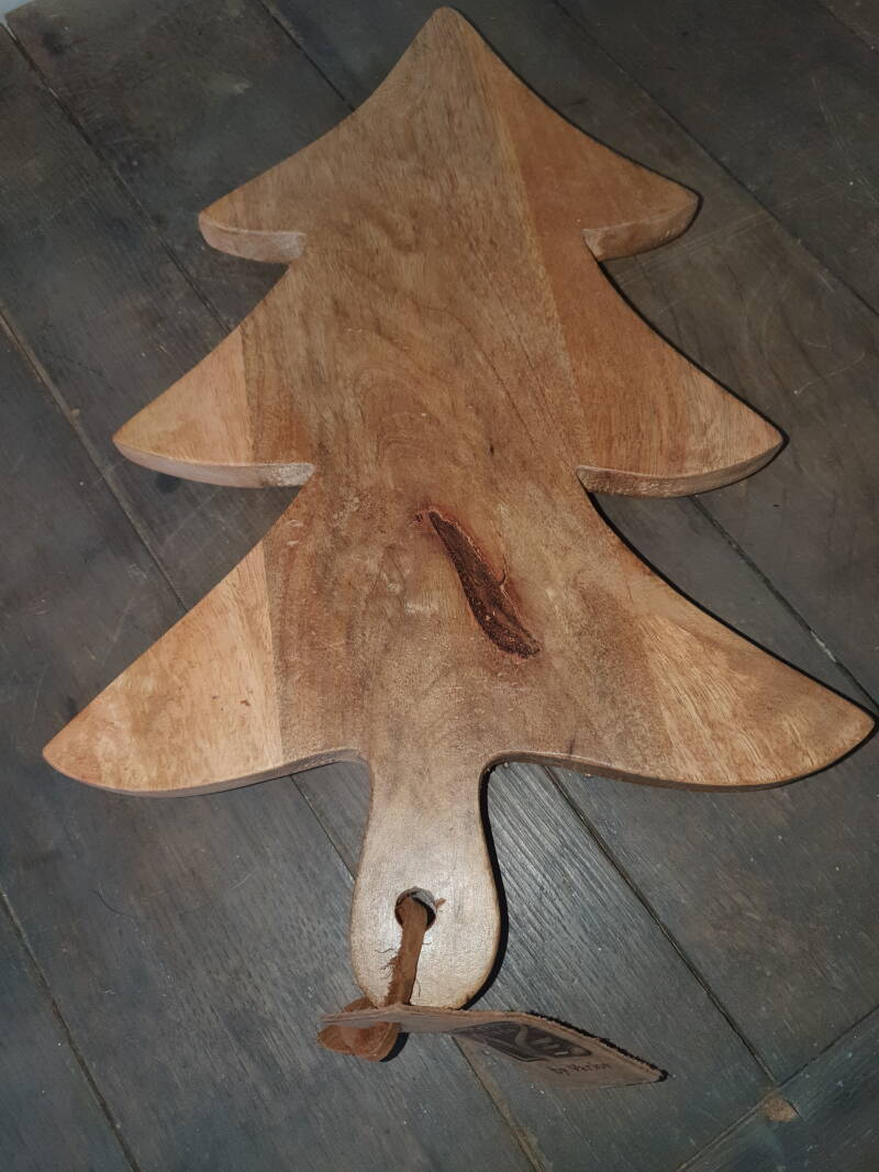 Houten plank christmastree