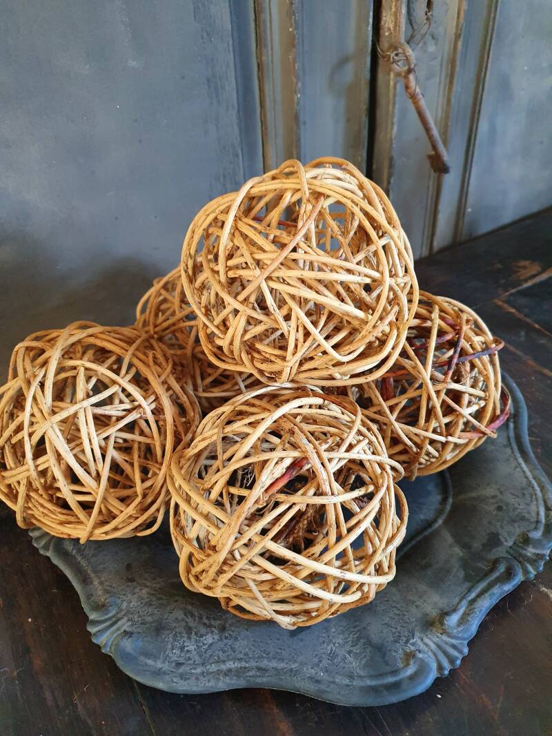 Rattan Decoratieballen