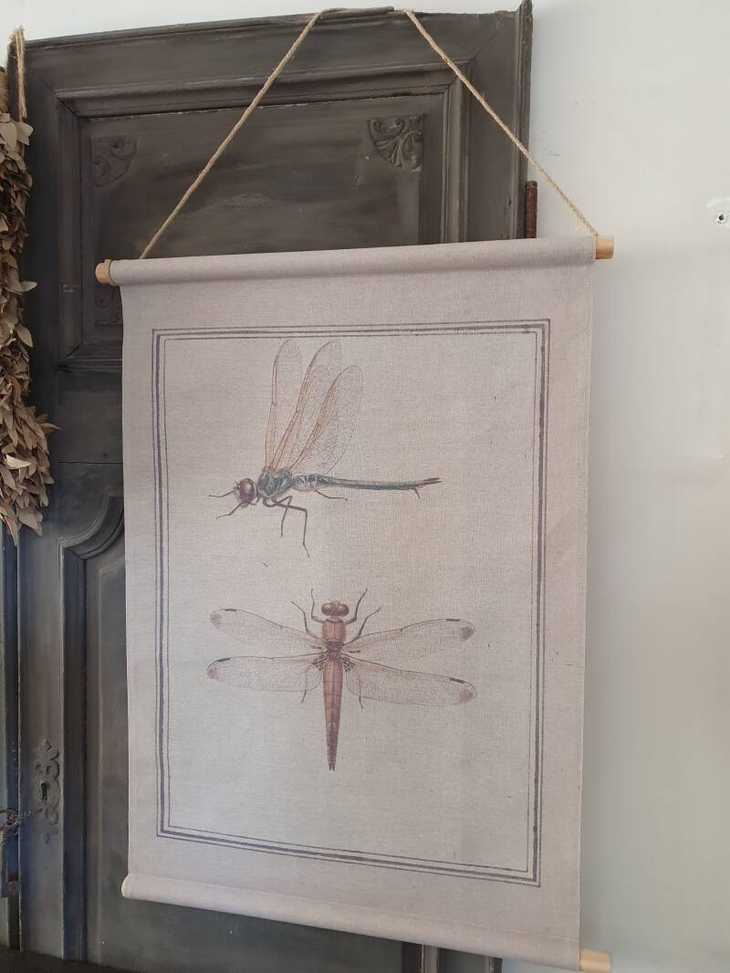 Canvasdoek Insect