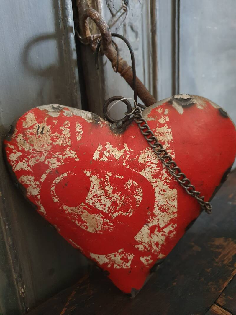 "Heart Old Iron ""Red"""