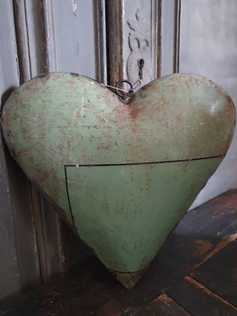 "Heart Old Iron ""Green"""