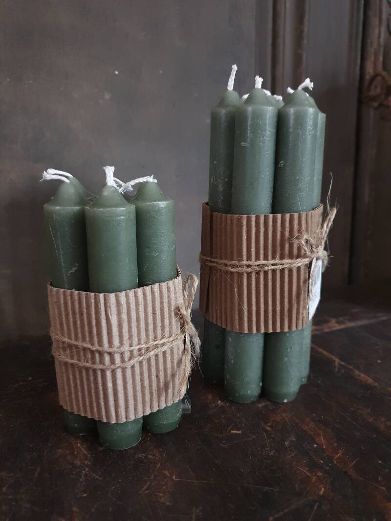 Candles Army Green