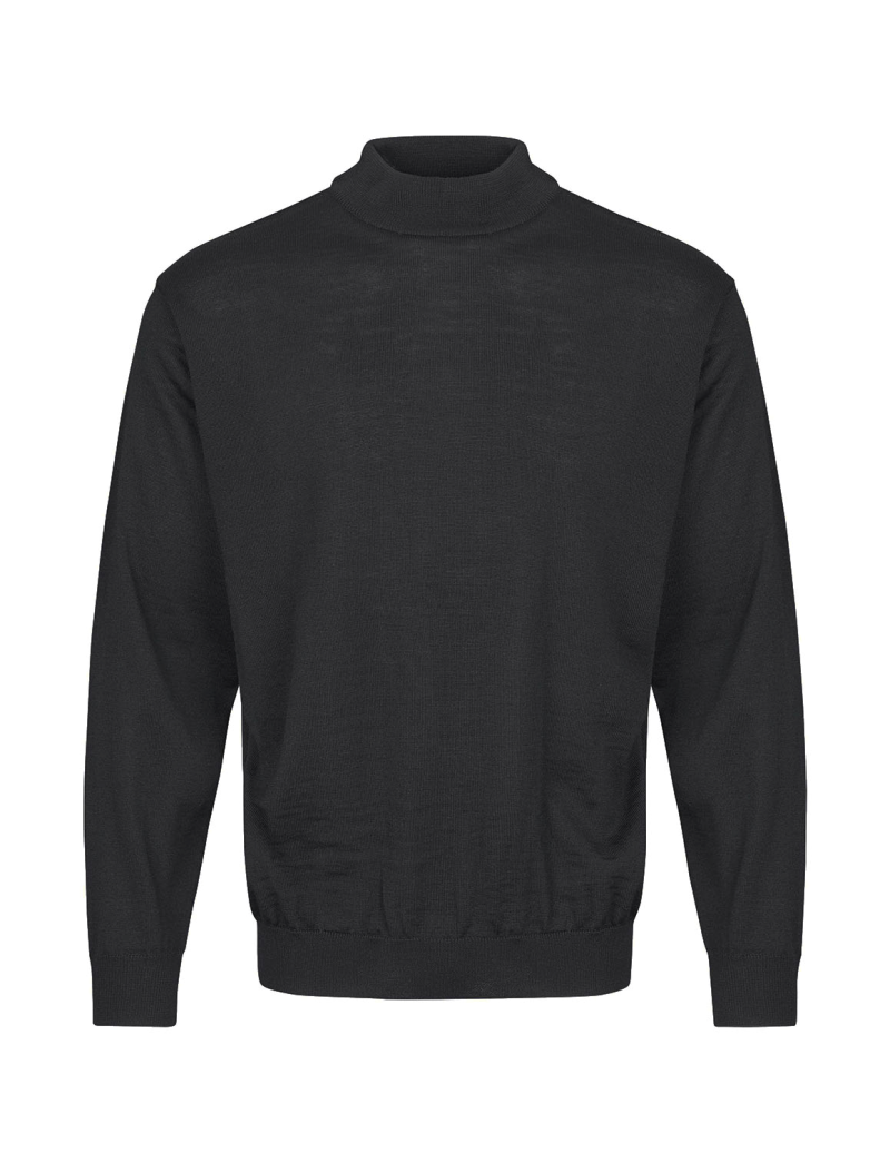 Turtleneck trui Antraciet 90203