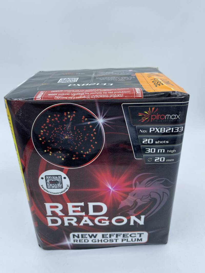 Red dragon ghost effect