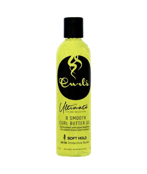 Curls Ultimate Styling Collection B Smooth Curl Butter Gel 30ml - Geel
