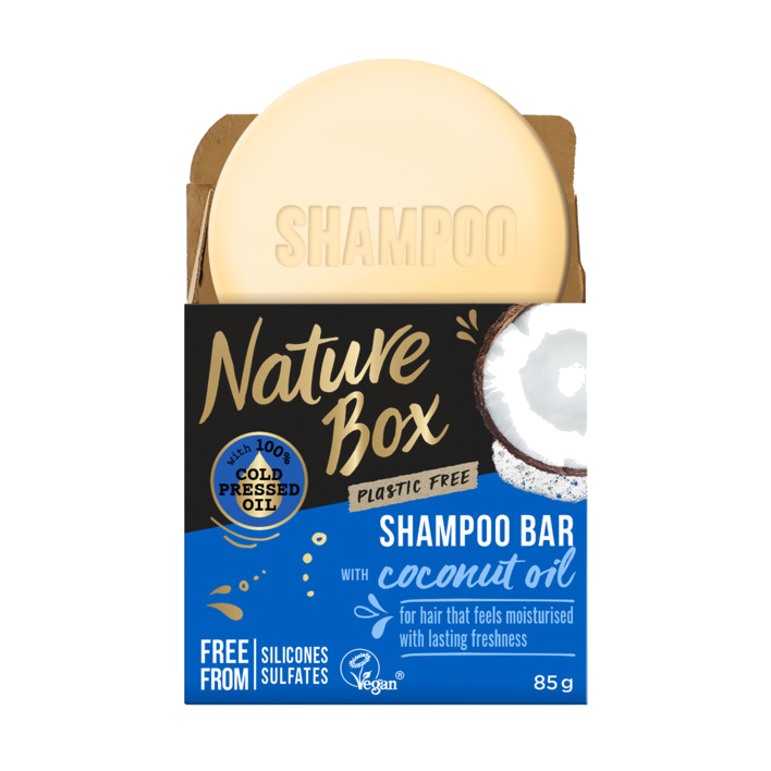 Nature Box Coconut Oil Shampoo Bar