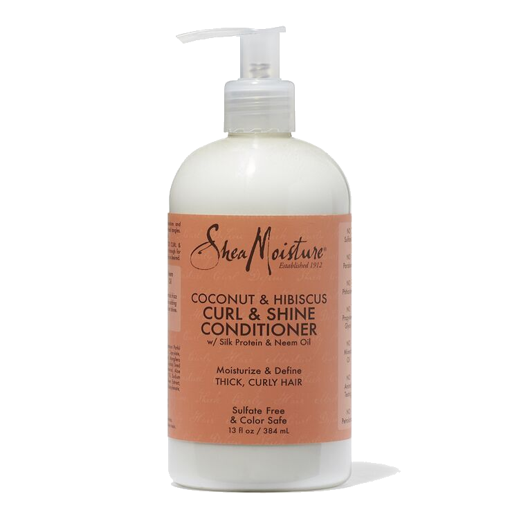 Shea Moisture Coconut & Hibiscus Curl & Shine Conditioner 30ml