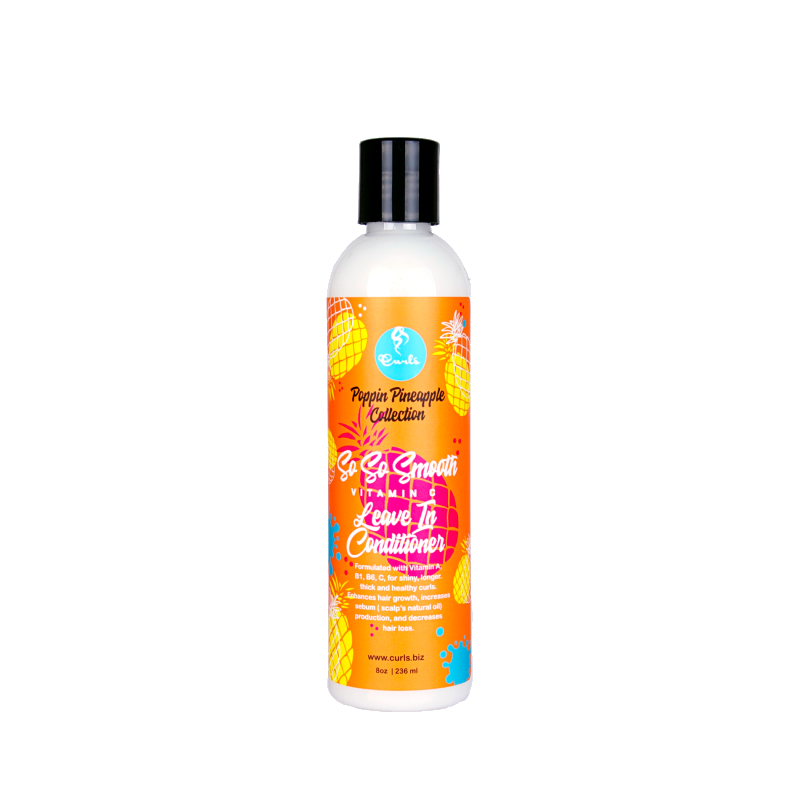 Curls Poppin Pineapple Vitamin C Collection So So Smooth Vitamin C Leave in conditioner 30ml