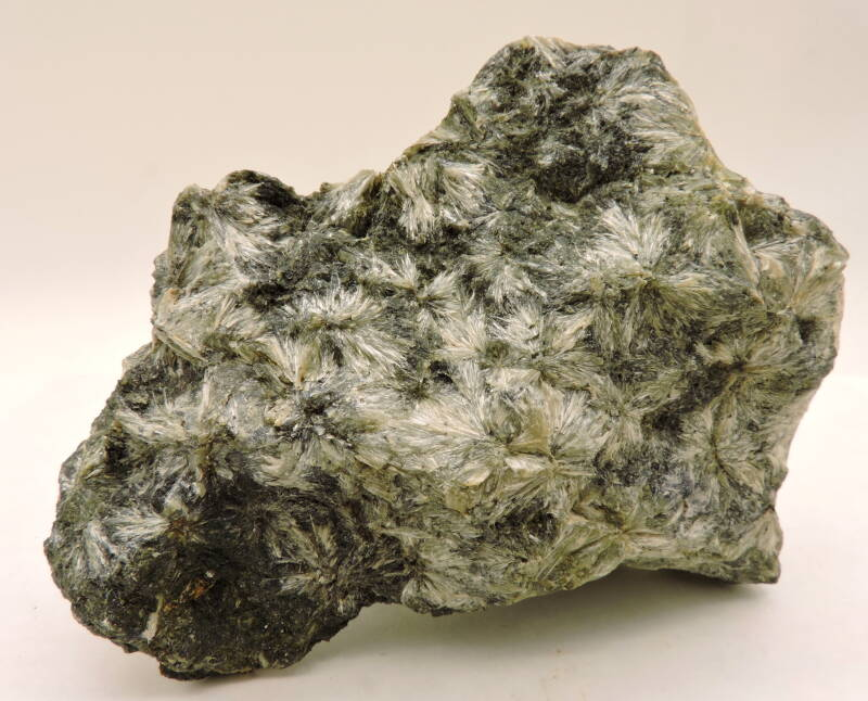 Hedenbergite and wollastonite from Italy - cabinet size