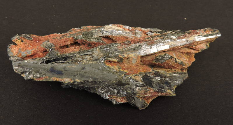 Stibnite (antimonite) from Italy - small cabinet size