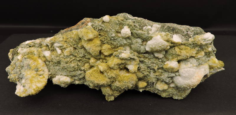 Clinozoisite and prehnite from Spain - cabinet size