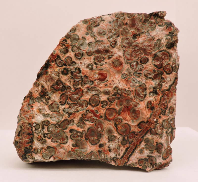 Leopard jasper (rough) from Mexico - cabinet size