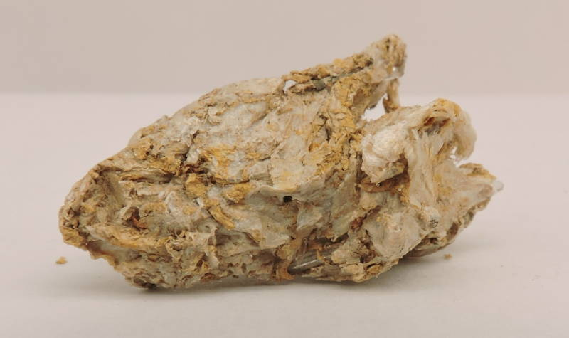 Rare rectorite (mountain leather)  with quartz from the USA - miniature