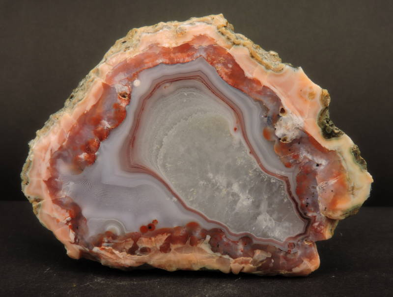 Agate from Morocco - cabinet size
