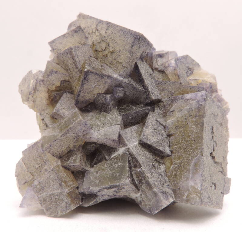 Fluorite from France - miniature
