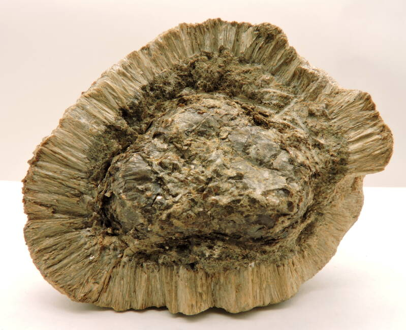 Anthophyllite and phlogopite (Hermanov sphere) from the Czech Republic - cabinet size