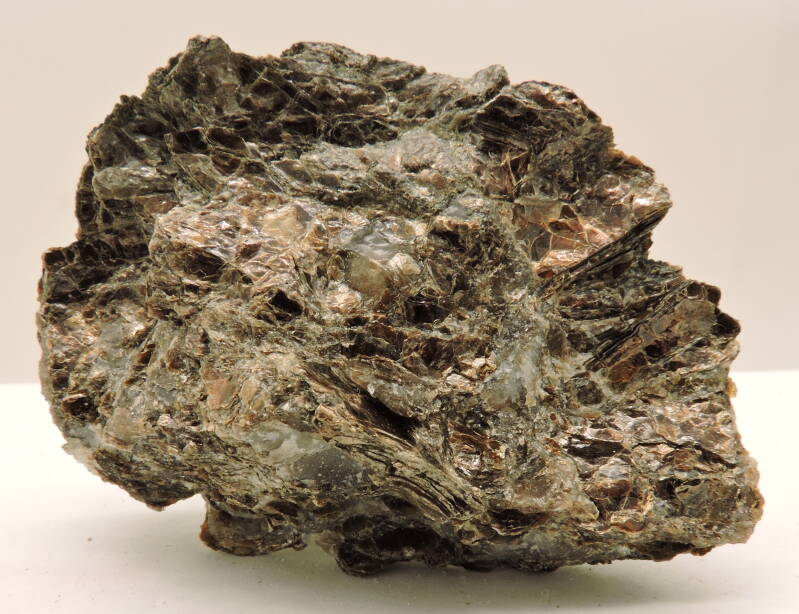 RESERVED Vermiculite on quartz from Canada - cabinet size