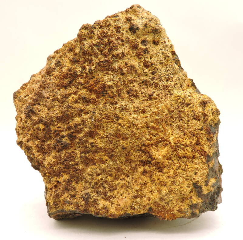 Cacoxenite and beraunite from Germany - old find - small cabinet size