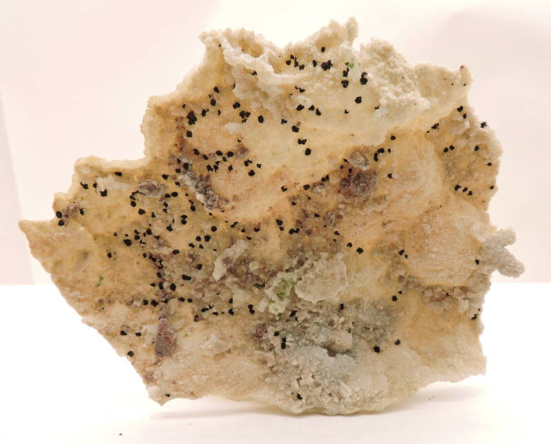 Duftite and ?? on dolomite from Namibia - cabinet size