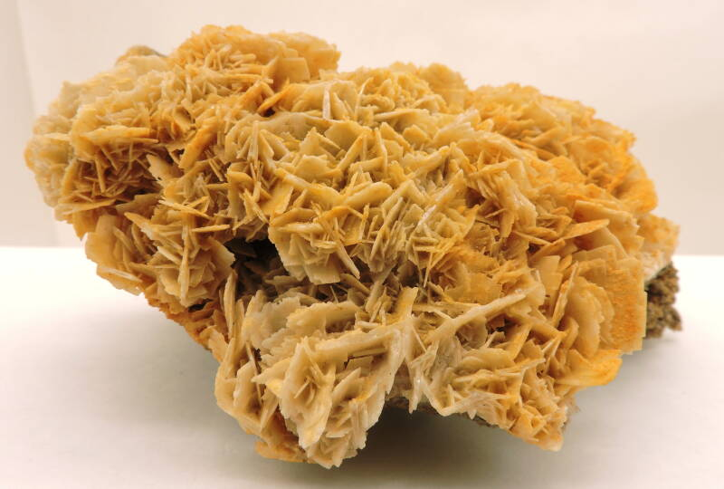 Baryte from Italy - fluorescent - large cabinet size