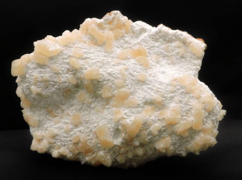 Heulandite on mordenite from India - large cabinet size