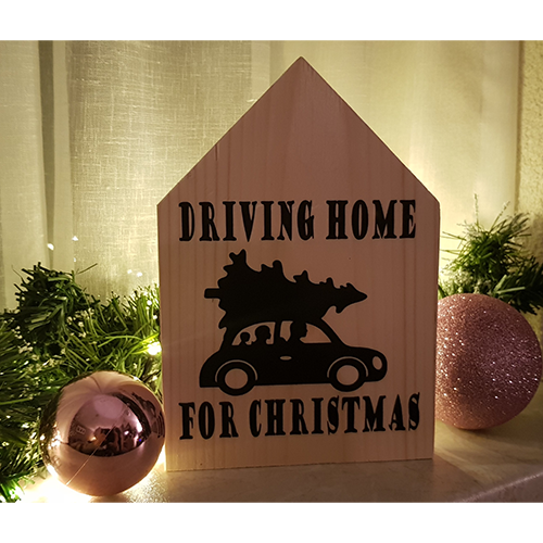Kerts Huisje / Driving home for christmas