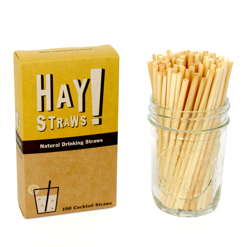 Cocktail Hay Straws (3,5 - 5,5mm)