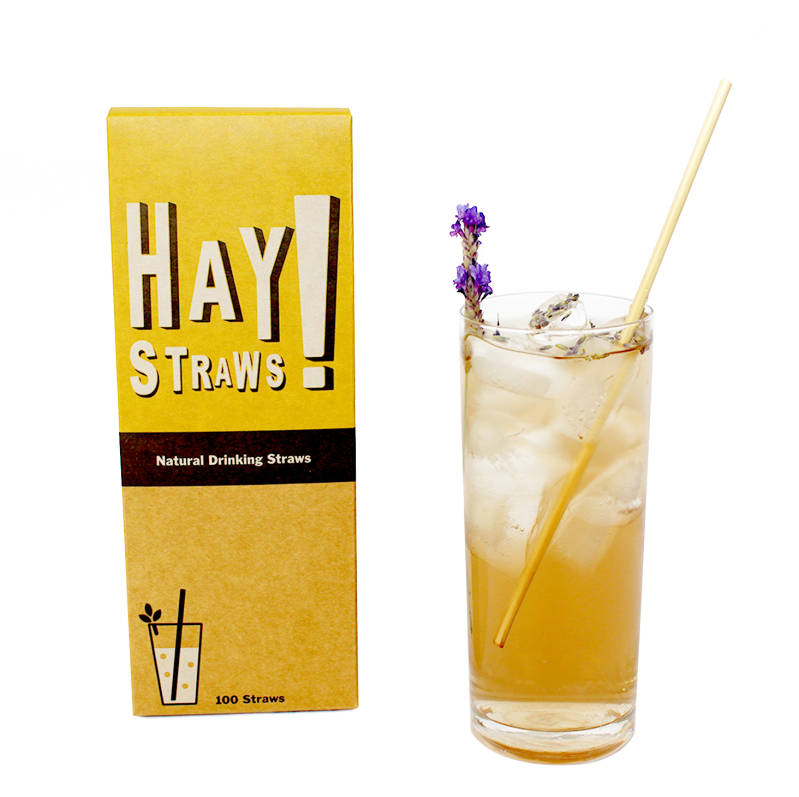 Pajitas largas Hay Straws (3,5 - 5,5mm)