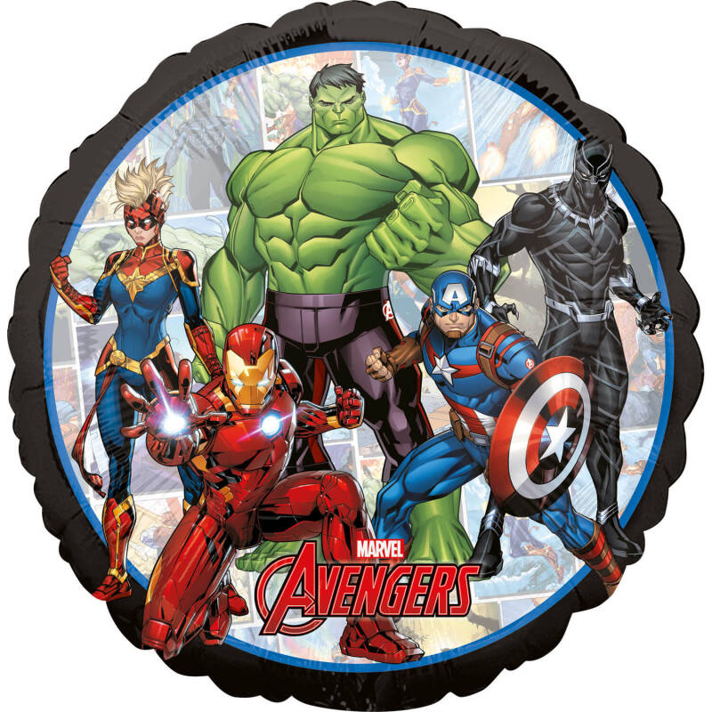 Folieballon Avengers Power Unite 43cm