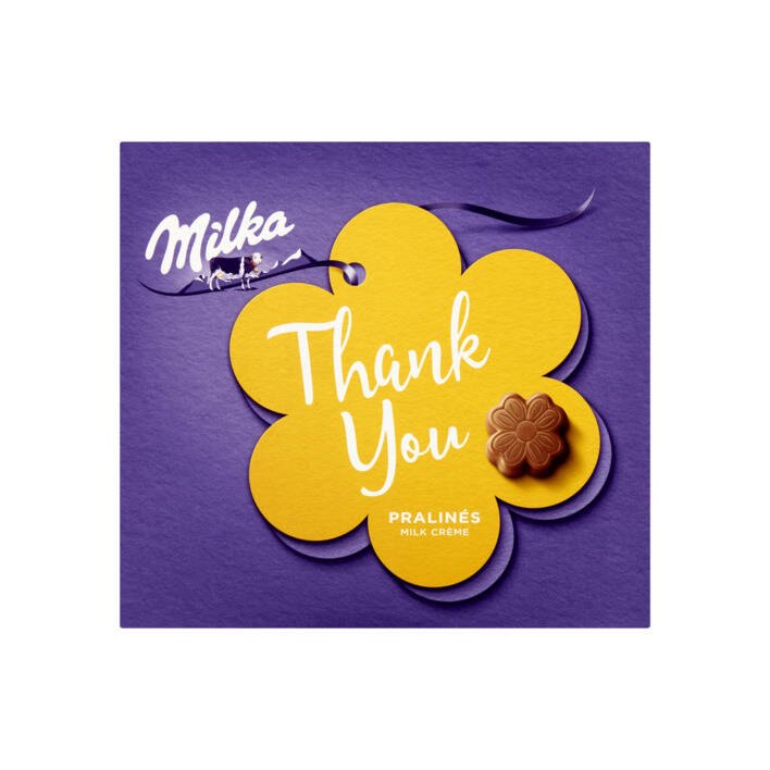 Milka chocolade Thank You