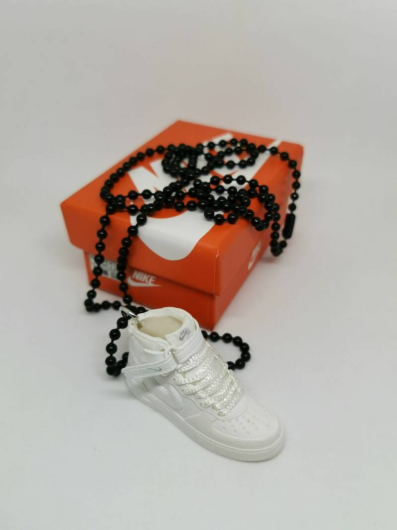 """Nike """"Air Force 1 White"""" necklace"""