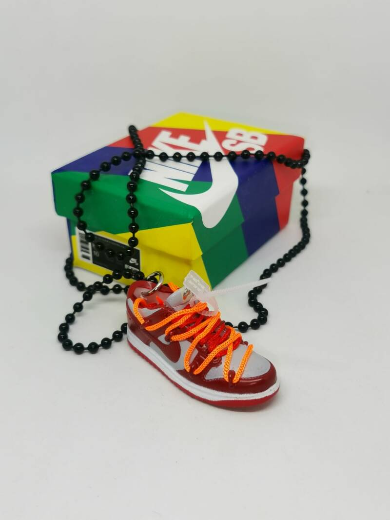 """Nike SB dunk low """"Off White"""" necklace"""