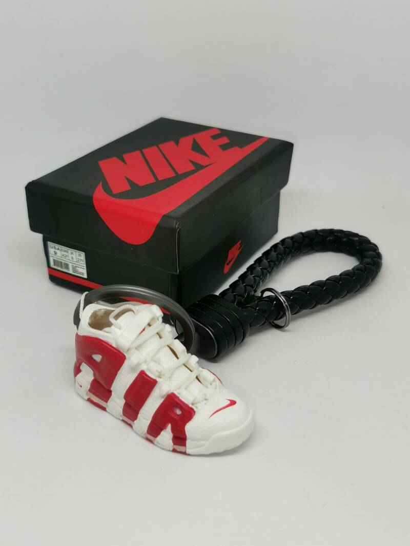 """Nike """"Uptempo white&red"""" keychain"""