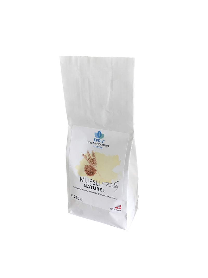 MUESLI NATUREL - 750 gram